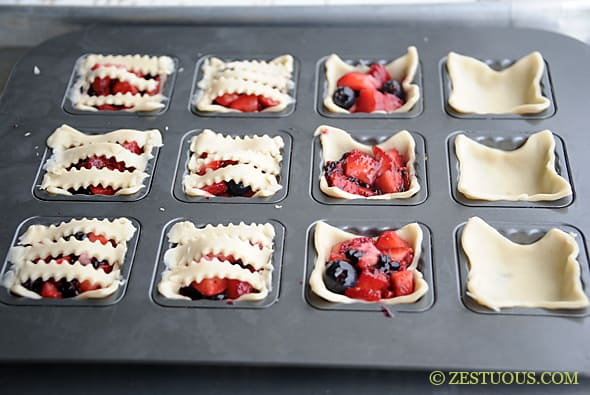 & Mini Fruit Pies | Zestuous