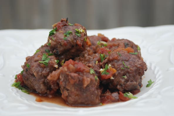 Osso Buco Meatballs from Zestuous