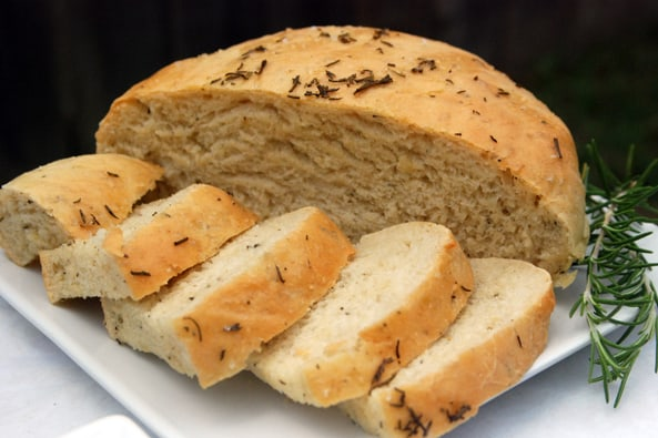Rosemary Bread from Zestuous