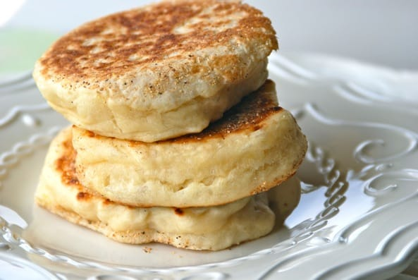 Homemade English Muffins from Zestuous