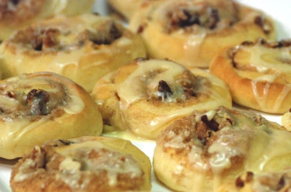 Homemade Cinnamon Rolls from Zestuous