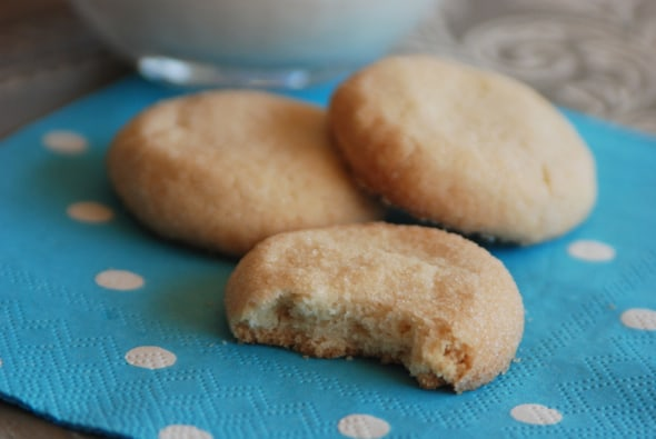 Gluten-Free Shortbread Cookies from Zestuous