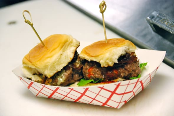 Akaushi beef sliders