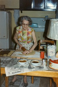 Great Grandma Lill Cooking