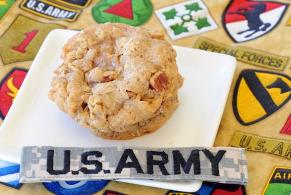 Soldier Cookies from Zestuous