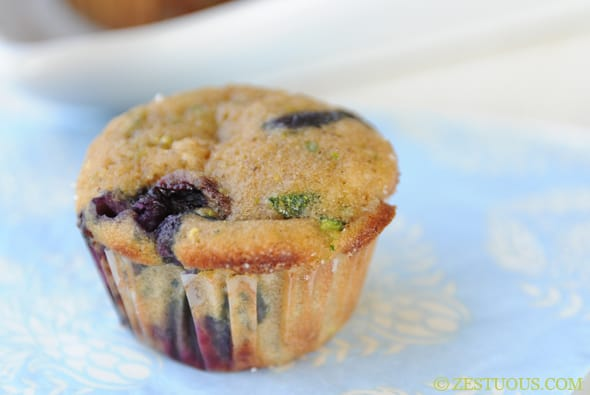 Blucchini Muffins from Zestuous
