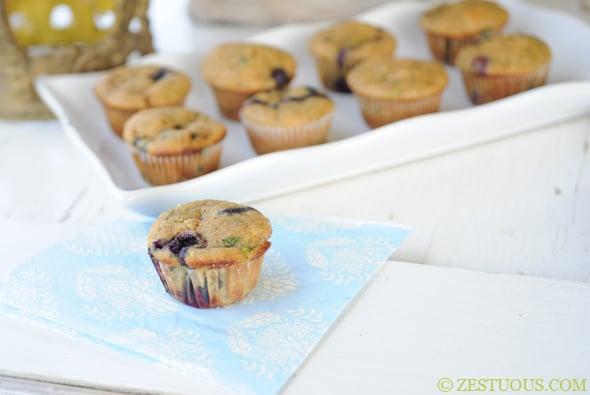 Blucchini Muffins