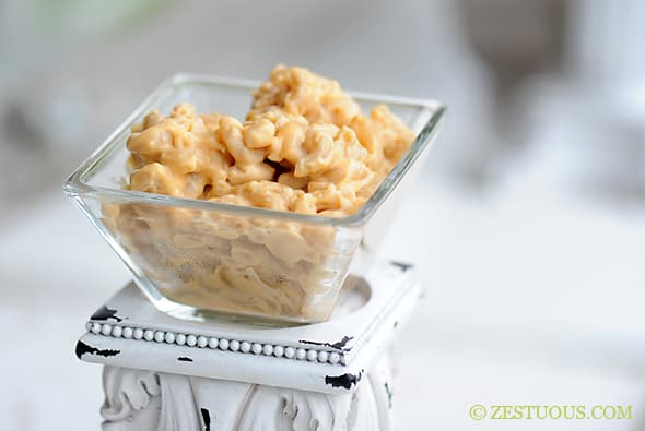 Super Creamy Macaroni and Cheese from Zestuous