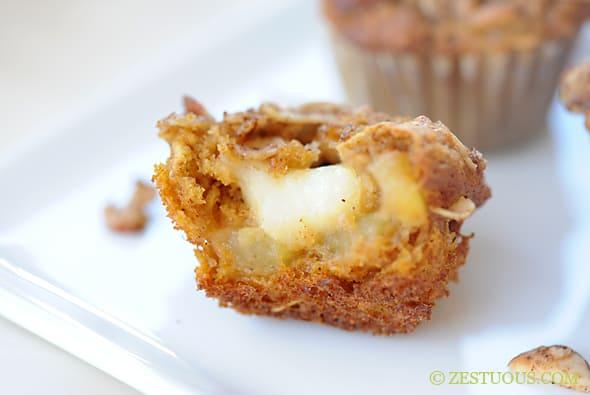 Pumpkin Apple Brie Muffins