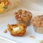 Pumpkin Apple Brie Muffins