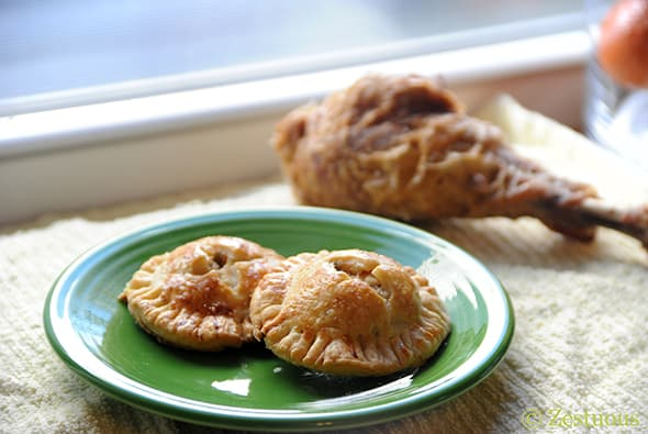Leftover Hand Pies from Zestuous