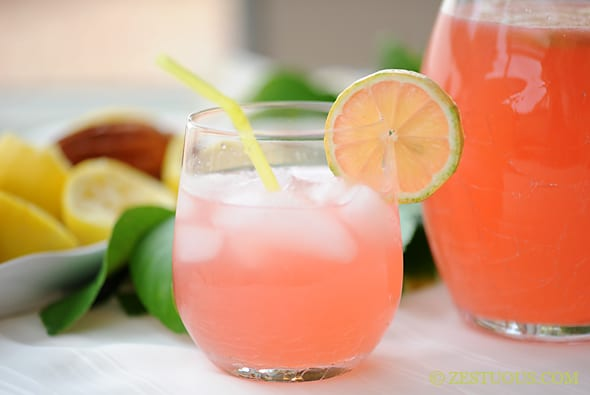 Glass Of Pink Lemonade pink lemonade — recipes hubs