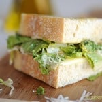 Grilled Caesar Sandwich