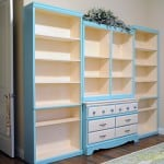Tiffany Blue Bookshelf