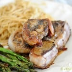 30-Minute Romantic Meal - Steak au Poivre, Gruyre Noodles and Asparagus Spears