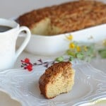 Maple Oatmeal Coffee Cake