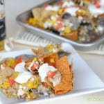 Nachos with Leftovers