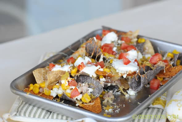 Nachos with Leftovers from Zestuous