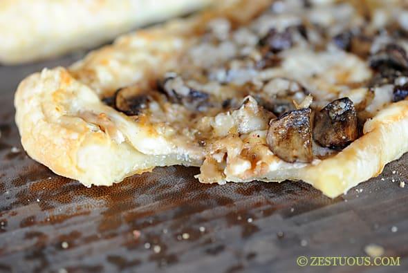 Mushroom Tart | Zestuous