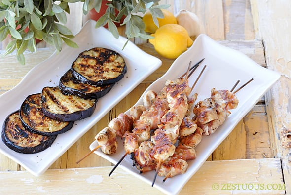 Lemon Pancetta Chicken from Zestuous