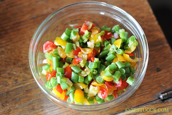 Fresh Green Bean Salsa