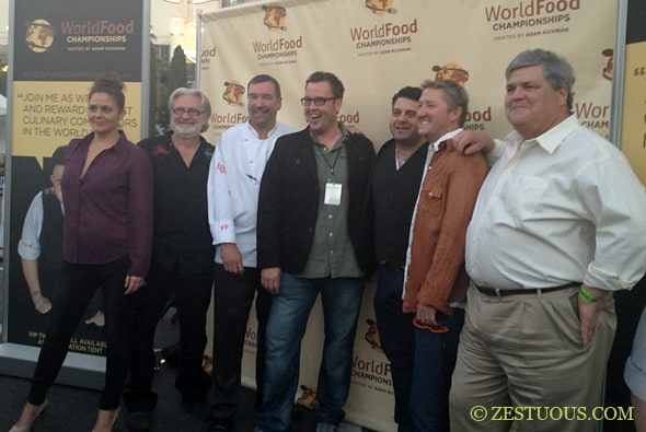 2012 World Food Championships Final Table Judges
