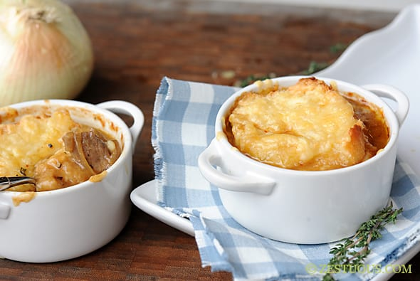 French Onion Steak Soup