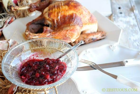 Cranberry Pepper Jelly Sauce from Zestuous
