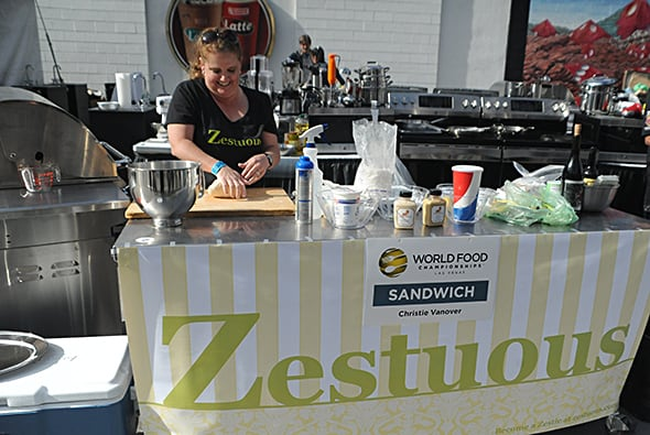 Zestuous competes at World Food Championships
