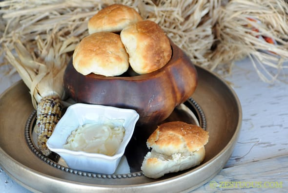 Yeast Rolls from Zestuous
