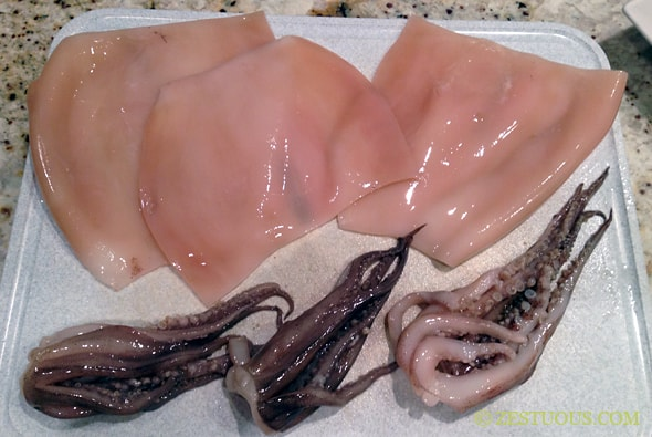 Calamari Steaks