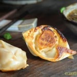 Gochujang Potstickers from Zestuous