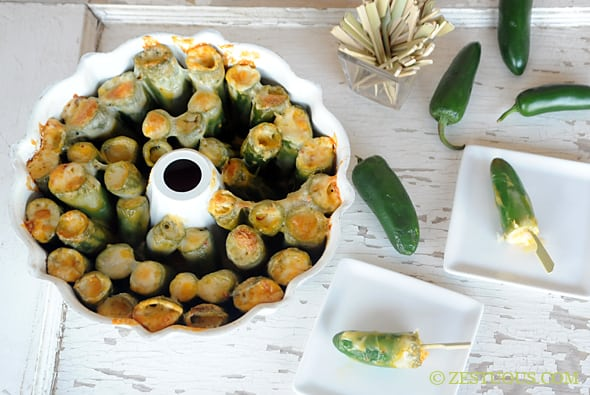 Bundt Pan Jalapeno Poppers
