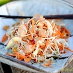 Chopped Oriental Chicken Salad from Zestuous