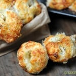 Cheesy Garlic Bites from Zestuous