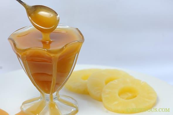 Pineapple Caramel Sauce