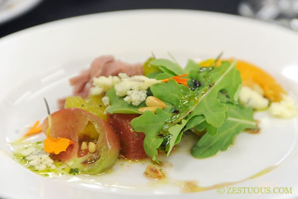 Tasting Flight of Maple Leaf Farms Duck by Master Chef Dale Miller
