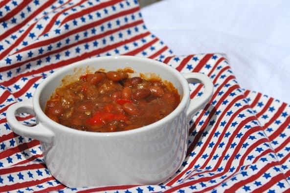 Baked Beans from Zestuous