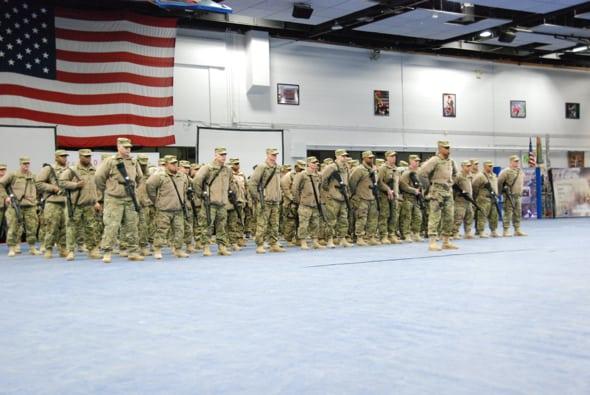 Deployment Ceremony