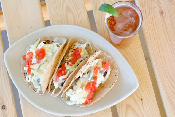Grilled Chilean Sea Bass Fish Tacos