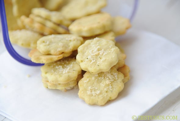 Ranch Pickle Chip Crackers from Zestuous