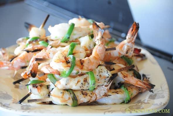 Corona Jalapeno Shrimp from Zestuous