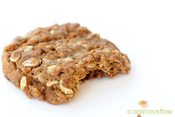 Oatmeal Molasses Cookies From Zestuous