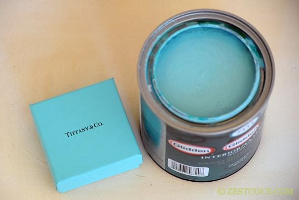 Tiffany Blue Bookshelf From Zestuous