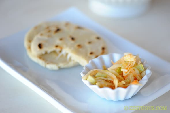 Pupusas from Zestuous