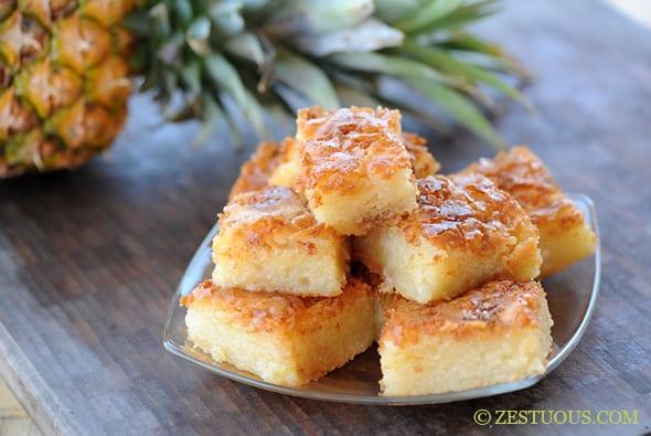 Bibingka - Filipino Coconut Cake from Zestuous