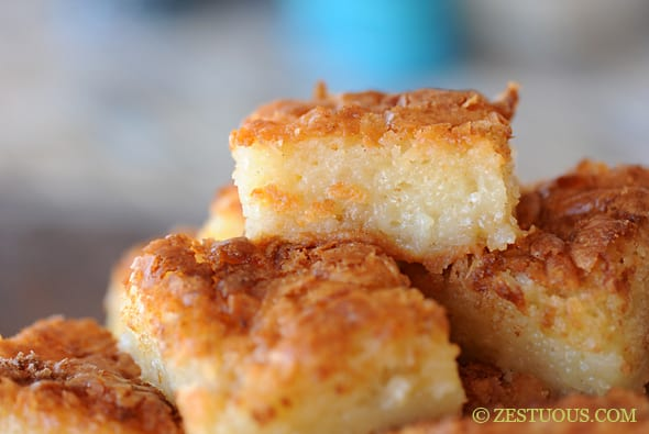 Bibingka Filipino Coconut Cake From Zestuous