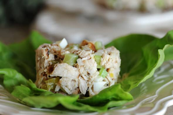 Grilled Tuna Salad from Zestuous