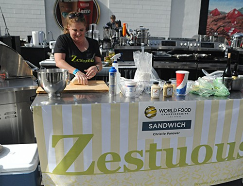 Zestuous competes in World Food Championships