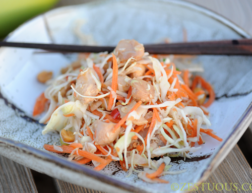 Chopped Oriental Chicken Salad